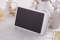 2015 china new innovative product 2600mah solar power bank 4400mAh cheap portable mobilephone powered bank