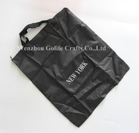 Hot sale polyester foldable zipper tote bag