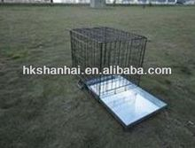 Indoor or Outdoor expanded metal dog cage