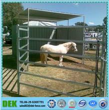 portátil de aluminio blanco de esgrima caballo