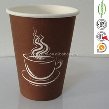 China manufacturer Wholesale customized high-quality double wall cereal drink or coffee paper cups