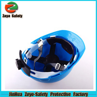 CE Certificate HDPE Or ABS Material Construction CE industrial cheapest safety helmet with vents