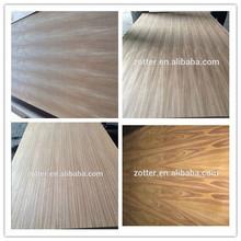 3mm Teak melamine paper plywood one side paper