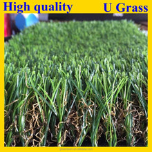 High quality u shape artificial grass turf for landscaping/landscaping fake grass