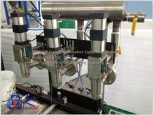 three heads pesticide Full Automatic Weighing Filling + Lids Dropping + Capping Line