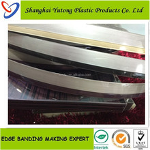1.3mm acrylic edge banding tape 3D transparent 1.3*22mm