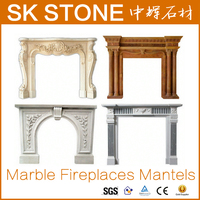 White Marble Fireplace Surround fireplaces