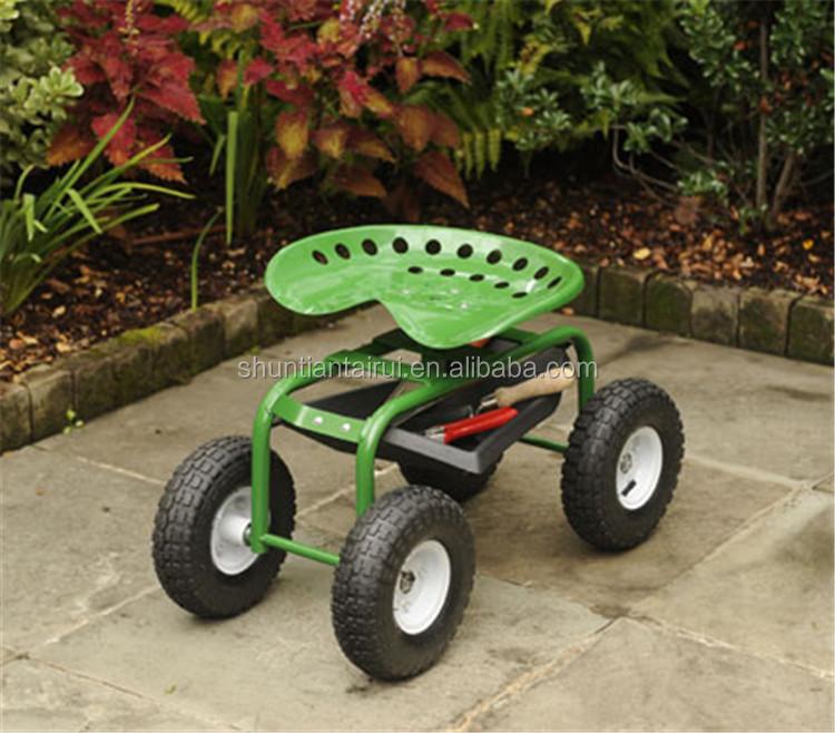 rolling garden scooter rolling garden seat garden seat