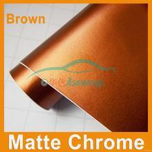 Excellent quality new arrival matte chrome sticker vinyl wrap paper