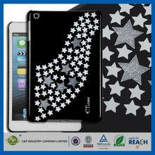 C&T Bling Glitter Stars New PC Mobile Phone Case For Ipad Pro