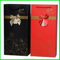Yiwu Yilong Wholesale Holiday Wine Bottle Gift Bag