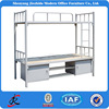 modern bed room furniture two level bed metal steel king size futon bunk bed