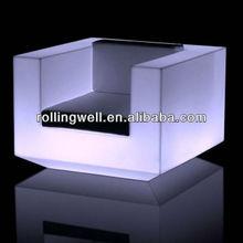 led sofa/led sofa with li battery/lighted sofa couch