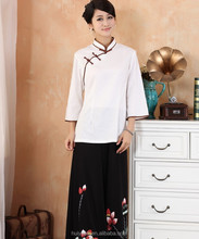 Chinese traditional work wear / hotel uniform