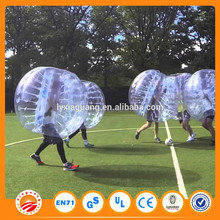 Gaint cheap air human bubble soccer ball water
