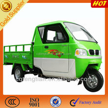 New Front Closed Cabin Cargo Tricycle