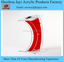 China manufacturer wholesale plexiglass pulpit and lecture