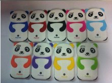 Newest Silicone 3D Panda Case for iPhone 5 g
