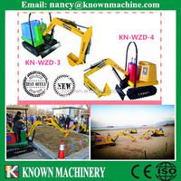 kids electric mini digger kiddie rides excavator machine