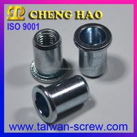 Manufacturer Fastener flat head aluminium hollow rivet