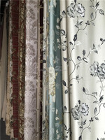 new pattern europe style jacquard silk fabric for window curtain from china