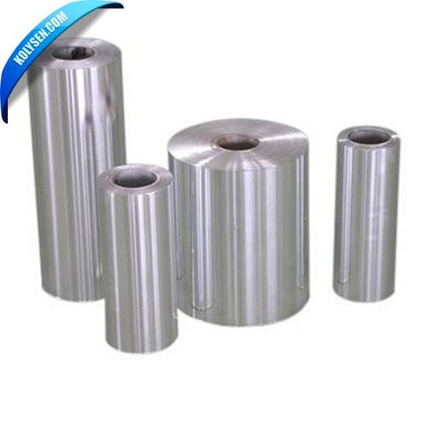 Chine vente chaude feuille d'aluminium papier couché
