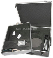 customized aluminum tool case with EVA divider,aluminum case with equipment