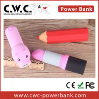 shenzhen power bank with custom design 2200/2600 mah CE FCC ROHS for portable mobile phone