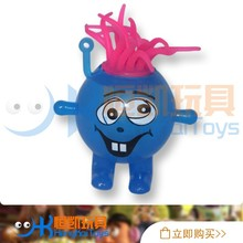 Factory direct-sale TPR LED flashing cartoon dolls