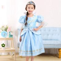 C21775B Kids Girls Princess Dresses Crystal Dresses