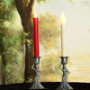Battery operated moving flame led taper candles with remote