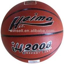 New design bottom price top quality pu basketball