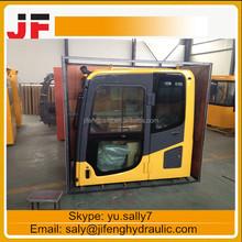 Excavator parts PC210-7 excavator cab, operator cabin