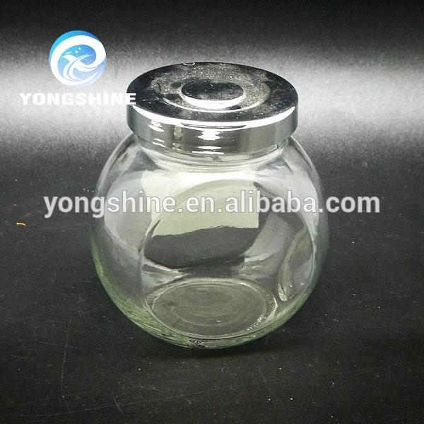 370ml jar thực phẩm thủy tinh, gia vị thủy tinh lưu trữ jar bán buôn