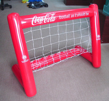 hot sale inflatable football goal/inflatable soccer goal for kids