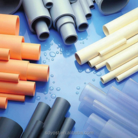 Various colors Loop socket and factory price pvc drainage pipe