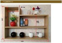 MDF material Wall display shelf FOR Kitchen Storage Use