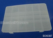 Best selling chocolate boxes wholesale clear removable divider 27.5*18.7*4.2cm