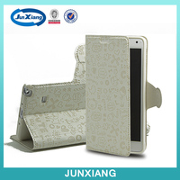 Promotional Prices!! Shock Proof flip leather case for samsung note 4