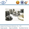 DIN8187-ISO/R606 pitch25.4 industry C45 finished bore specification standard double row sprocket 1''x17.02
