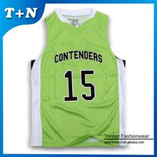 2015 no MOQ custom cheap plain basketball jersey/ reversible basketball jerseys