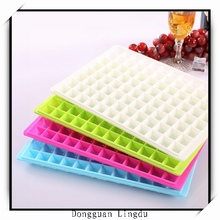 Ice cube tray with lid and mini ice cube tray