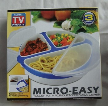 micro easy microwave bowl plate lunch box buy microwave. Black Bedroom Furniture Sets. Home Design Ideas