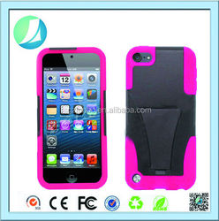 Popular T Kickstand Sublimation Case For Ipod Touch 5
