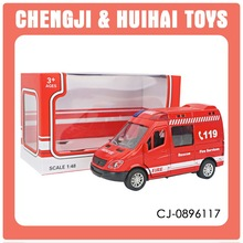 Diecast Toy children pull back 1:48 scale model cars