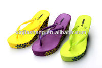 high heel shoes lady wedge sandals 2014