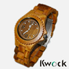 2015 New Italy Fashion Handmade Greenwood Wood Watch