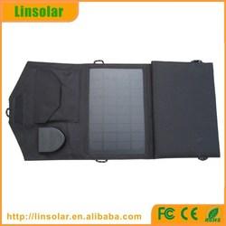 Best quality Folding solar panel 18v and 5v battery charger for laptop