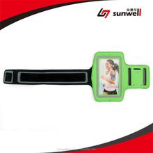 Sweat Resistant Neoprene Armband, Jogging Running Sports Armband Badge Holder