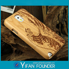 Made in china cell phone S4 wood case